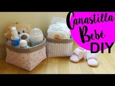 Tutorial DIY Canastilla o cesta de bebe ( Patrón incluido ) - YouTube