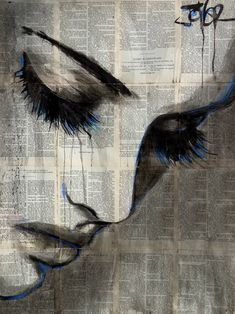 "Saatchi Art Artist LOUI JOVER; Drawing, ""deep shore"" #art"