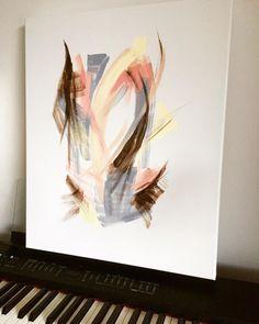 Morningdream (ElinArt - November 2918) acrylicpainting Contemporary Art, November, Painting, Instagram, Painting Art, Paintings, Modern Art, Paint, Draw