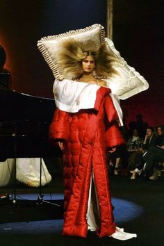 Bed dress by Victor & Rolf