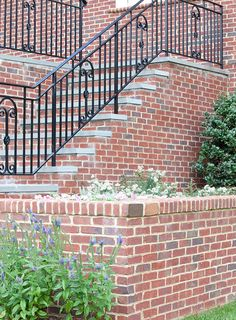 Your wall should be anything but ordinary. This retaining wall is finished with rowlock coping, and because it's built with brick, it's not only beautiful, it's also durable. http://insistonbrick.com/