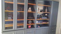Mon grand meuble style Louis Philippe relookage esprit atelier brocante.