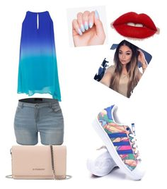 """""""Untitled #17"""" by maria-paula-paez on Polyvore featuring adidas and Givenchy"""