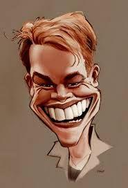 Bildergebnis für matt damon caricatures