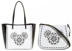Check out these new Vera Bradley Laser-Cut bags with Mickey Mouse icons - putting one on my wish list now! ~ Mommy Frog