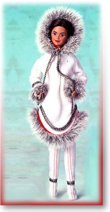 1991 Eskimo Barbie® | Barbie Dolls of the World Collection *DOLLS OF THE WORLDl
