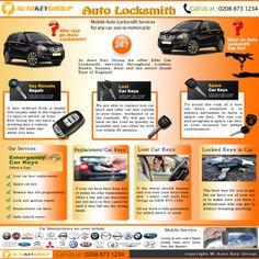 Auto Locksmith, Locksmith Services, Auto Key, Keys, Lost, Range, Group, Cookers, Key