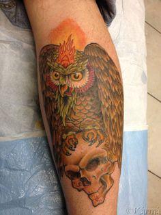Tattoo by Rick Pierceall