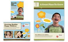 preschool advertising ideas | Daycare Advertisements & Flyers for Small Business Marketing