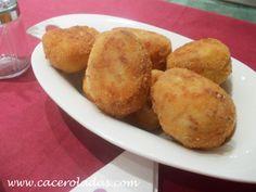 Caceroladas: Croquetas de cocido caseras Coco, Tapas, Muffin, Potatoes, Vegetables, Breakfast, Appetizers, Favorite Recipes, Side Dishes