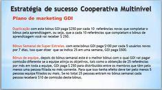 Estratégia GDI   Conta financiada para você e sua rede