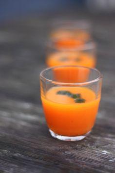 gaspacho carotte ananas