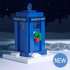 Lego Christmas TARDIS