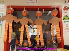 Teaching With Love and Laughter: Long-legged turkeys