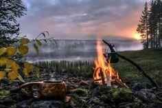 Kochen in der Wildnis © Asko Kuittinen/ Visit Finland
