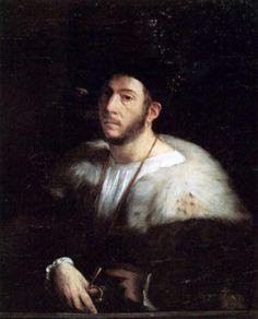 Dosso Dossi (San Giovanni del Dosso, 1474 – Ferrara, 1542). Ritratto di Uomo