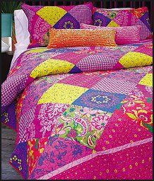 Beautiful gypsy patchwork quilt
