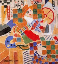 'Barcelona, 1918' de Rafael Barradas (1890-1929, Uruguay)