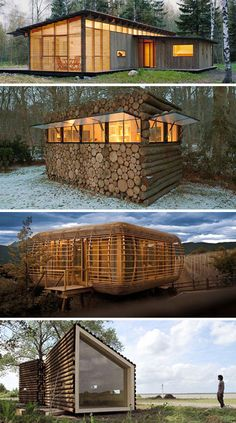 Log Cabins That Stack Above The Rest | WebUrbanist