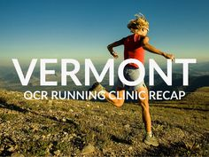 OCR Run Clinic Vermont