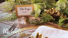 Handlettering for Place Cards | David Tutera | Michaels