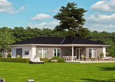 Skandinavischer bungalow  K 124 Ansicht 2 | Haus | Pinterest | Ansicht und Häuschen
