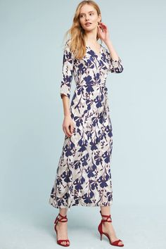 Designer Clothes, Shoes & Bags for Women Mob Dresses, Modest Dresses, Indian Dresses, Fashion Dresses, Short Sleeve Dresses, Navy Blue Floral Dress, Blue Silk Dress, Silky Dress, Weekend Outfit