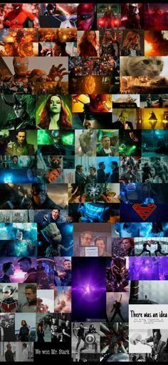 Marvel (DC) Rainbow Backround