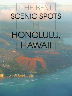 The Best Scenic Spots In Honolulu, Hawaii- diamond Head volcano Hawaii 2017, Visit Hawaii, Hawaii Life, Aloha Hawaii, Honolulu Hawaii, Best Beaches In Honolulu, Honeymoon Vacations, Hawaii Honeymoon, Hawaii Vacation