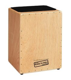 Gon Bops Spanish Flamenco Cajon with wires by Gon Bops. $139.95. This authentic Peruvian-made Cajon features a specially selected lightweight wood construction and internal steel wires for a traditional snare sound. A seating pad is included for comfort. All Gon Bops Cajons are made in Alex Acuna's homeland of Peru. Each one is crafted from select indigenous Peruvian lumber and designed to provide studio quality sound and optimal playability.
