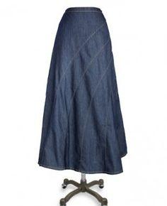 Deborah and Co. - Rainbow Denim Skirt , $49.95 (http://www.deborahandco.com/rainbow-denim-skirt/)