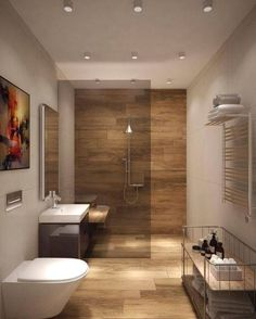 The other small bathroom design ideas are buoyant and revolutionary, rethinking what we expect a bathroom design should see like. design 10 Small Bathroom Ideas for Minimalist Houses Small Bathroom Renovations, Bathroom Layout, Modern Bathroom Design, Bathroom Interior Design, Bathroom Remodeling, Bathroom Storage, Decorating Bathrooms, Bathroom Designs, Bathroom Organization