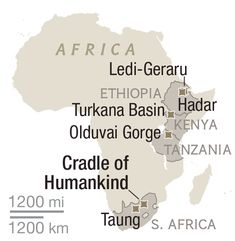 Where Is the Birthplace of Humankind? South Africa and East Africa Both Lay Claims << please visit Africa ... there's an intangible sense of going home