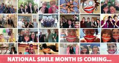 It's coming! Put your hands up for National Smile Month 2015! Would you want to be part of it -> http://www.nationalsmilemonth.org/ #NationalSmileMonth #NSM15