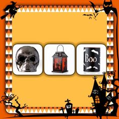 Halloween decore by Pink Zebra