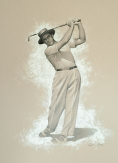 Sam Snead - drawing and painting on paper