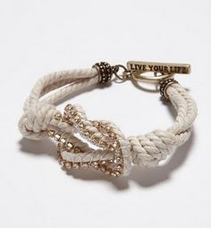 Knot bracelet. Pretty pretty.