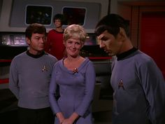 That was beautiful  Dr McCoy with nurse and  Spock