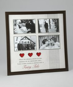 Take a look at this 'Wedding' Collage Photo Frame by Havoc Gifts on #zulily today!