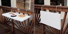 mesa plegable balcones pequeños
