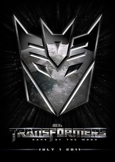 """Transformers; Dark of the Moon... all i wish is that the """"transformers"""" reflection was of the base of the moon, not a repetitive top view."""