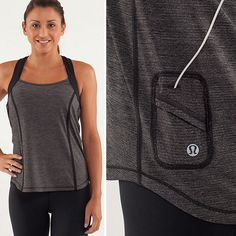 Fitness Tops With Hidden Pockets | I need this for my insulin pump! #t1d #insulinpump