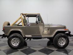 1989 Jeep Wrangler. Sold $13,000.