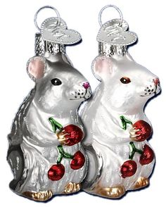 vintage christmas glassware images | mouse ornaments previous in christmas next in christmas