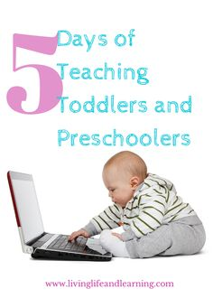 Get insightful tips for teaching your toddler or preschooler at home and you don't even need a curriculum.