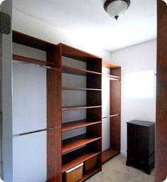 closet redo like a boutique---dreamy