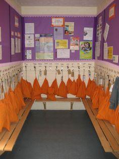 Cloakroom - Preschool