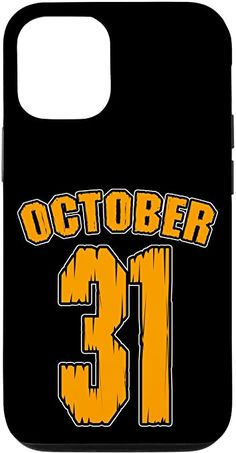 Amazon.com: iPhone 12/12 Pro Halloween October 31 Team Player Distressed Varsity Sports Case Samsung Galaxy Gift, Samsung Cases, Halloween Horror, Halloween Night, Athlete Costume, Fitness Gifts, Team Player, Gym Humor, Vintage Humor