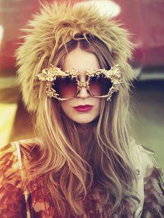fur hat & hair