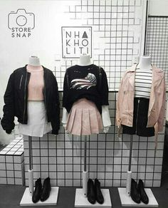 Korean fashion has been trending for many years, and it's for good reasons. With Korean's approach to outfits, accessories, and shoes, it is no doubt how many people search for Korean fashion trends for great looks. Korean Fashion Trends, Korean Street Fashion, Korea Fashion, Asian Fashion, Korean Fashion Kpop, Cute Fashion, Teen Fashion, Fashion Models, Fashion Outfits